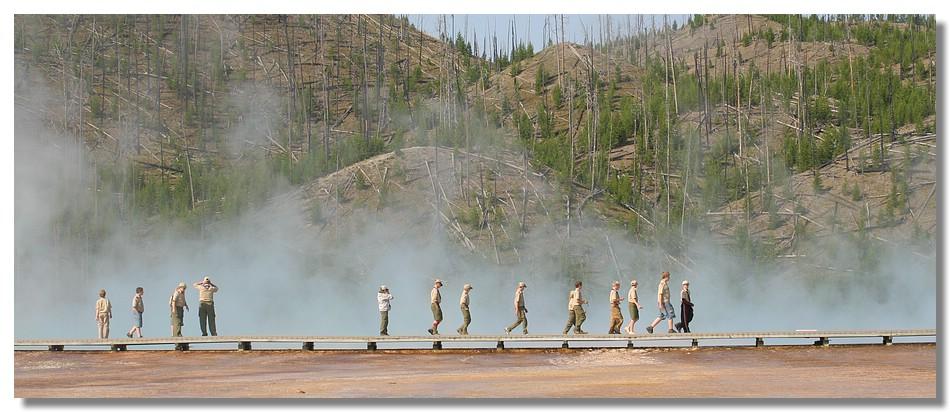 Parc de Yellowstone (Wyoming - USA)
