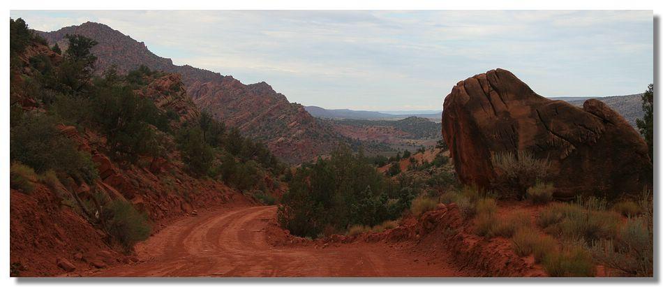 En chemin vers The Wave (Arizona – USA)